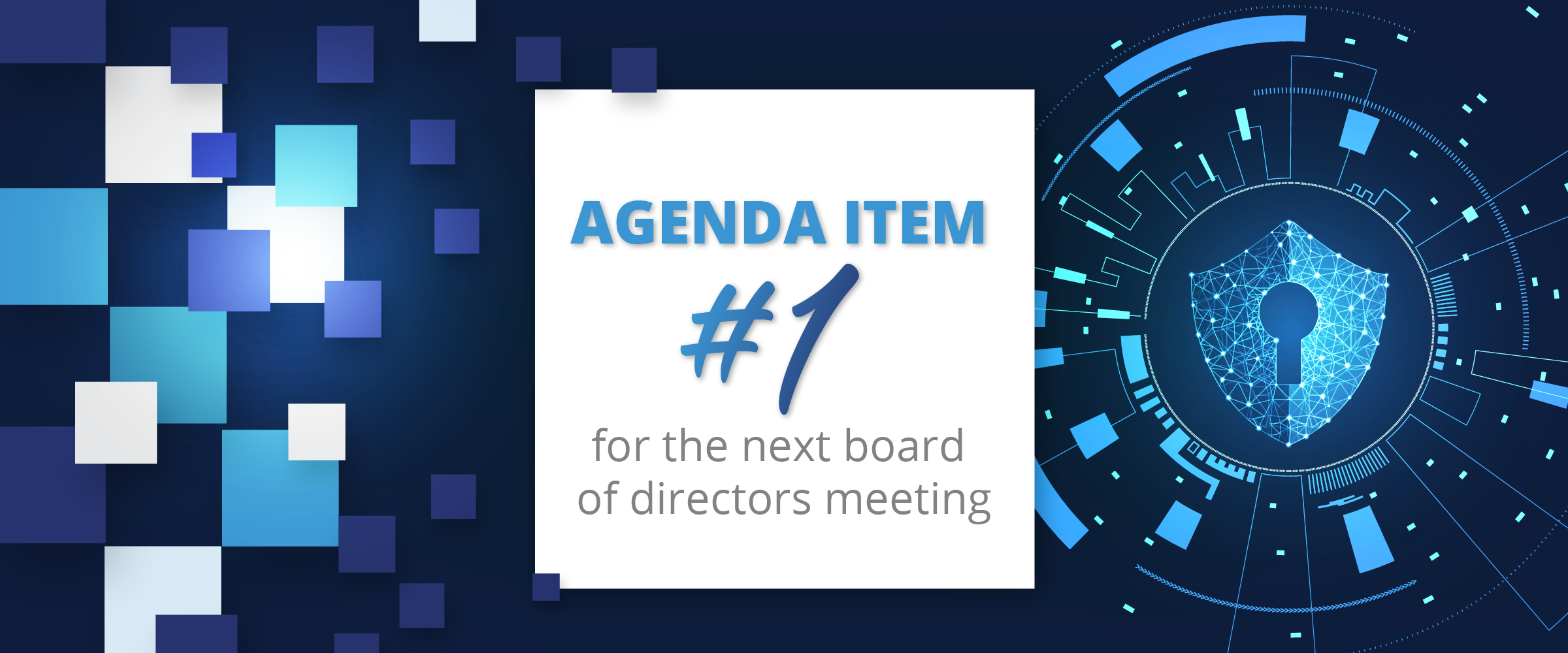 Agenda Item 1 for the next board of directors meeting