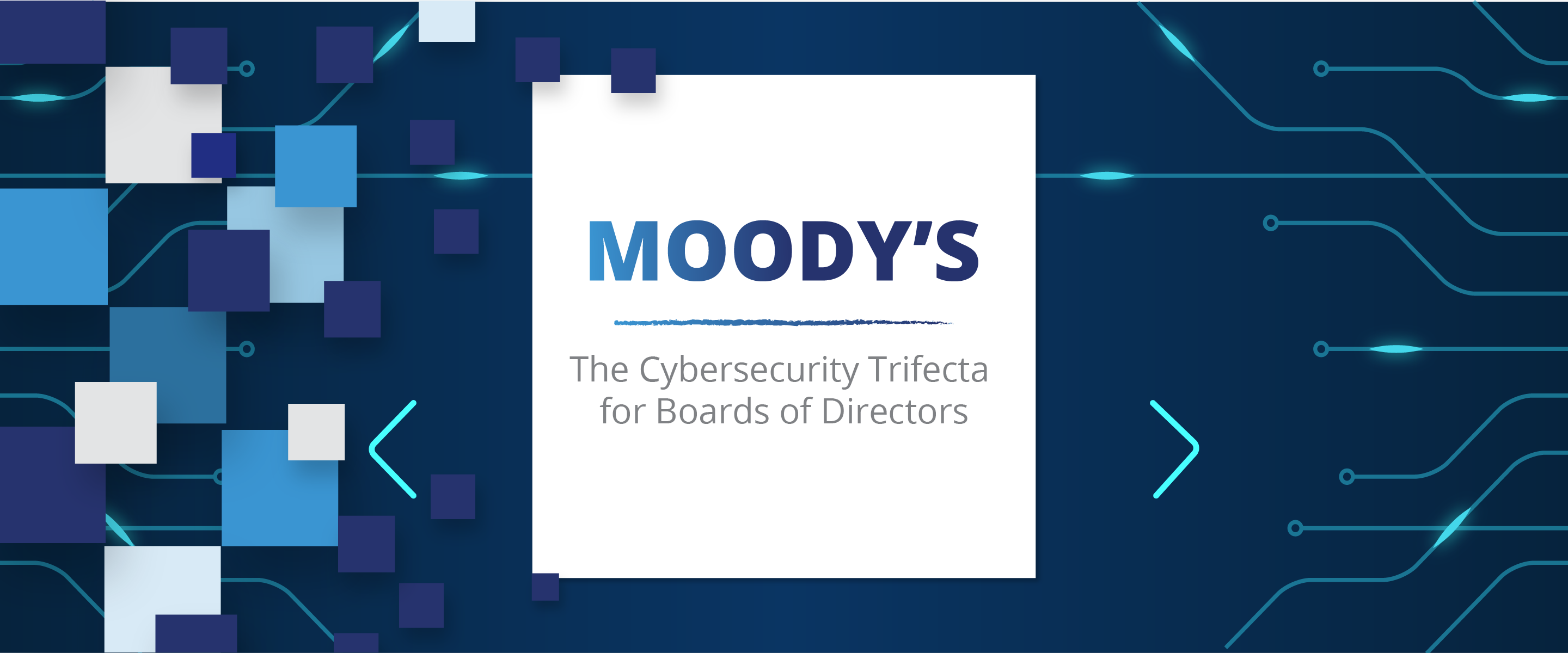 Moody's; The Cybersecurity Trifecta for Boards of Directors