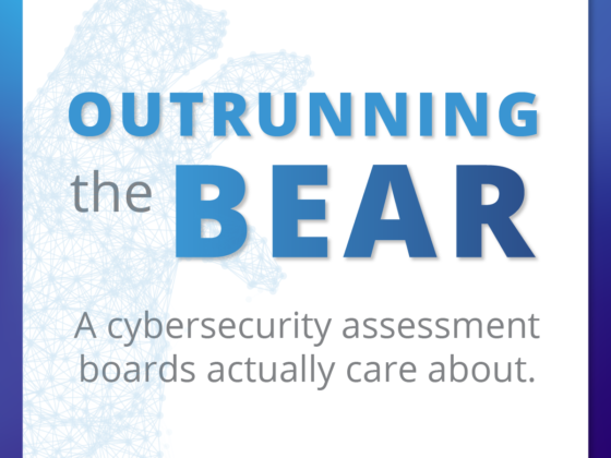 Outrunning the Bear by Jason Christopher Axio CTO