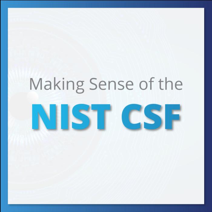 Making Sense of the NIST CSF