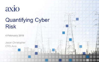 Protect Our Power Quantifying Cyber Risk