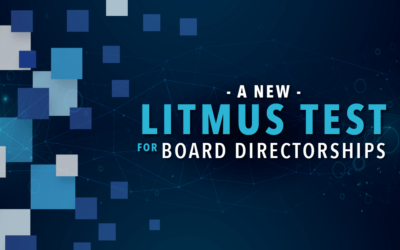 A New Litmus Test for Board Directorships