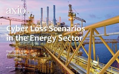 AIG – Oslo 2019 – Cyber Loss Scenarios in the Energy Sector