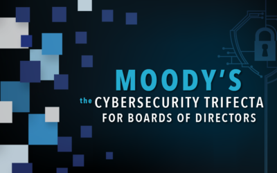 Moody's: The Cybersecurity Trifecta for Boards of Directors