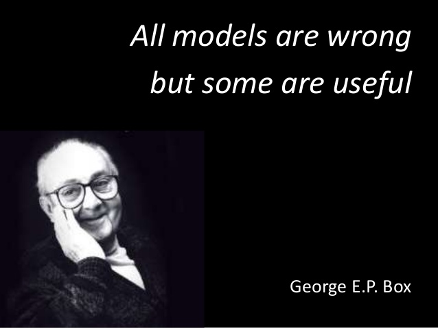 George E.P Box All models are wrong but some are useful